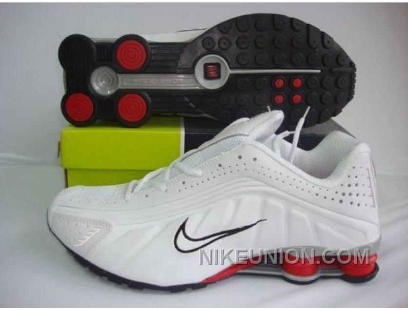 aef3c689bd2 http   www.nikeunion.com nike-shox-r4-ordinary-white-black-red ...