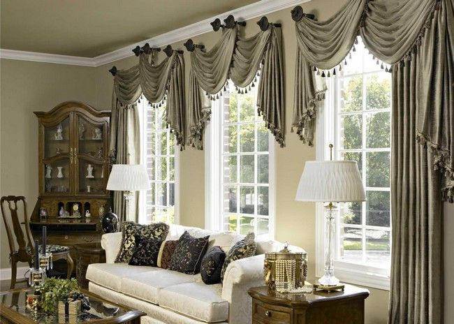 Living Room Curtains  Spice Up Your Living Room Design With These Endearing Living Room Window Designs Design Ideas