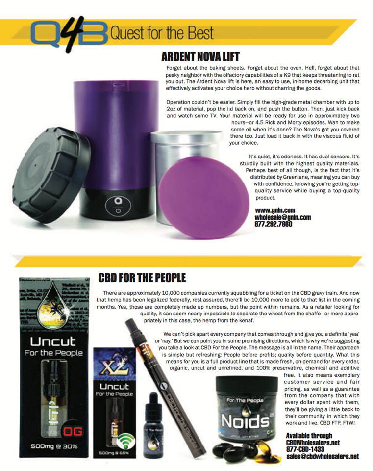One of our goals at HQ Magazine is to clue you into new products