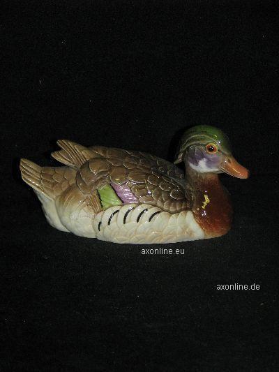 +# A009212_07 Goebel Archiv Muster Netzsch Ente Brautente Wood Duck 38-394