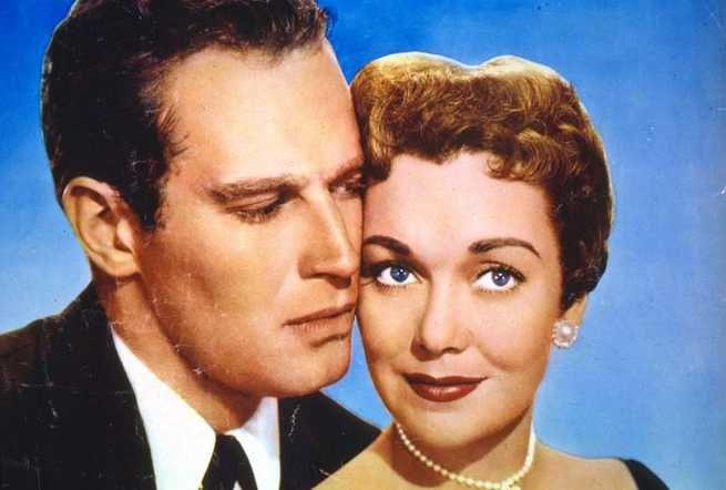 Lucy Gallant (1955) JANE AND CHARLTON HESTON
