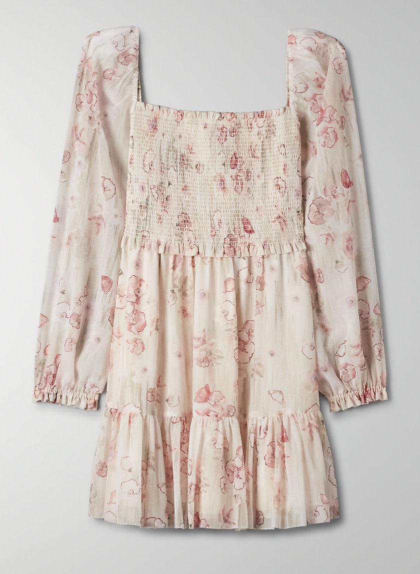 Tempest Dress In 2021 Chiffon Mini Dress Fashion Chiffon Long Sleeve [ 1147 x 840 Pixel ]