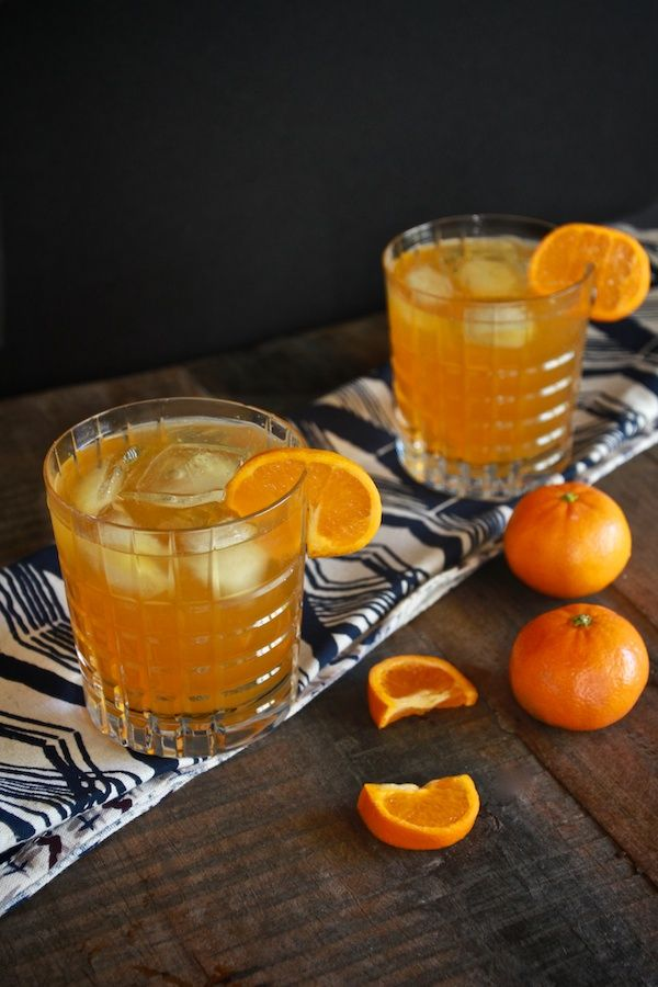 Clementine Bourbon Spritzer from The Boys Club (Guest Post from Tracey Benjamin of Shutterbean)