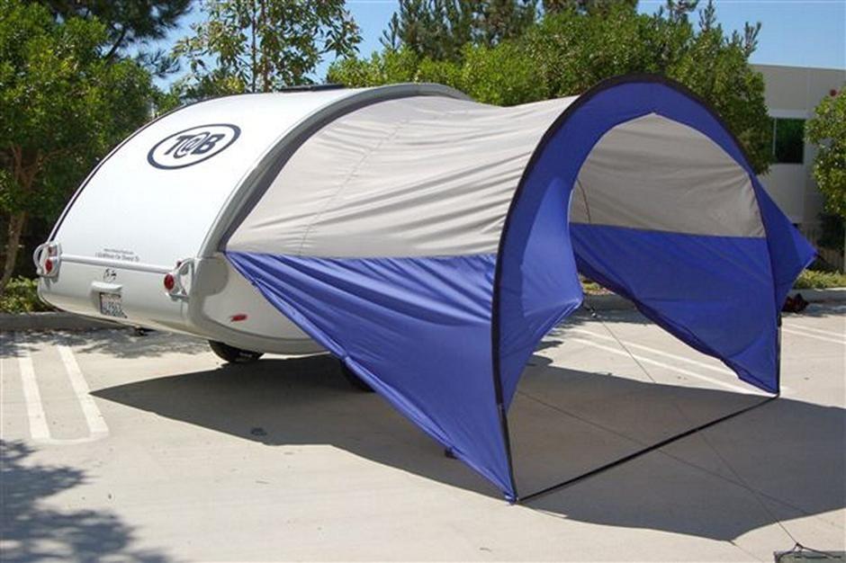 Tab Awning Sides Open Copy Caravan Awnings Teardrop Camper Teardrop Trailer