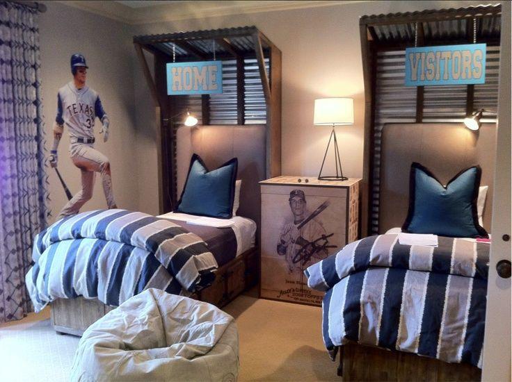 Image Result For Rugby Bedding Baseball Room Baseball Themed Bedroom Baseball Bedroom Bedroom Themes