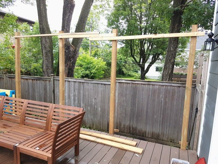 How To Build A Privacy Screen For Your Deck Diy Deck Privacy Screen Deck Outdoor Privacy