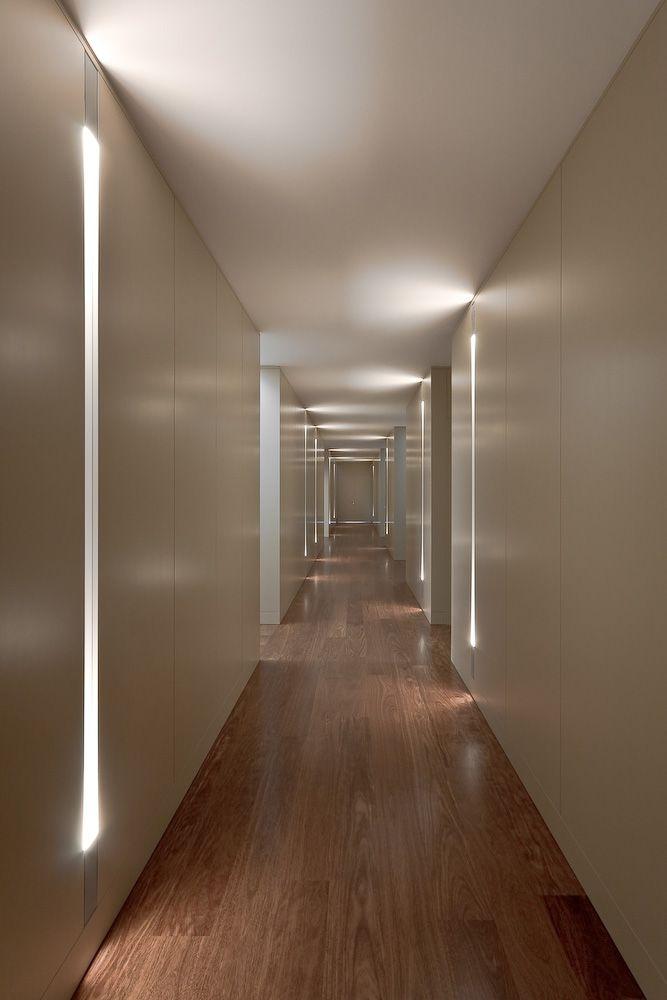 Hotel Guest Room Design: Hotel Hallway, Basement Guest Rooms