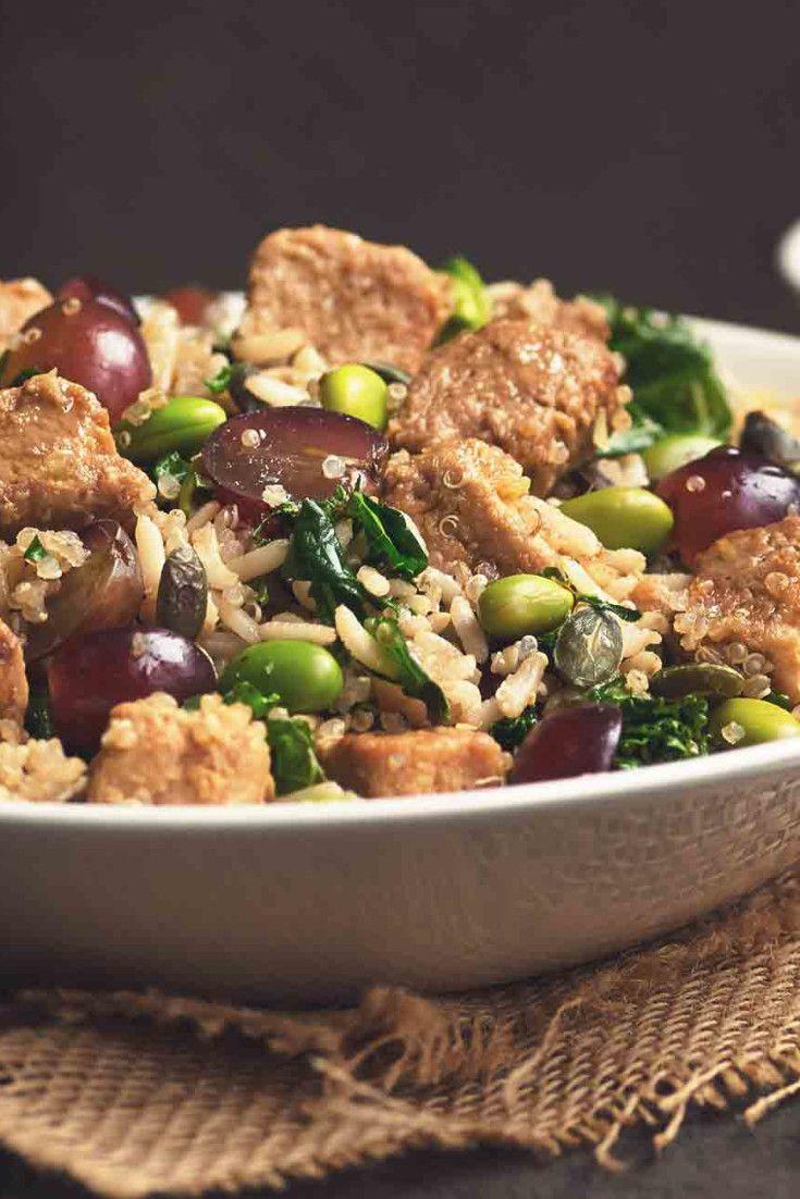 Vegan Pieces Quinoa Salad Recipe Quinoa Salad Quorn Vegan Quinoa Salad Recipes
