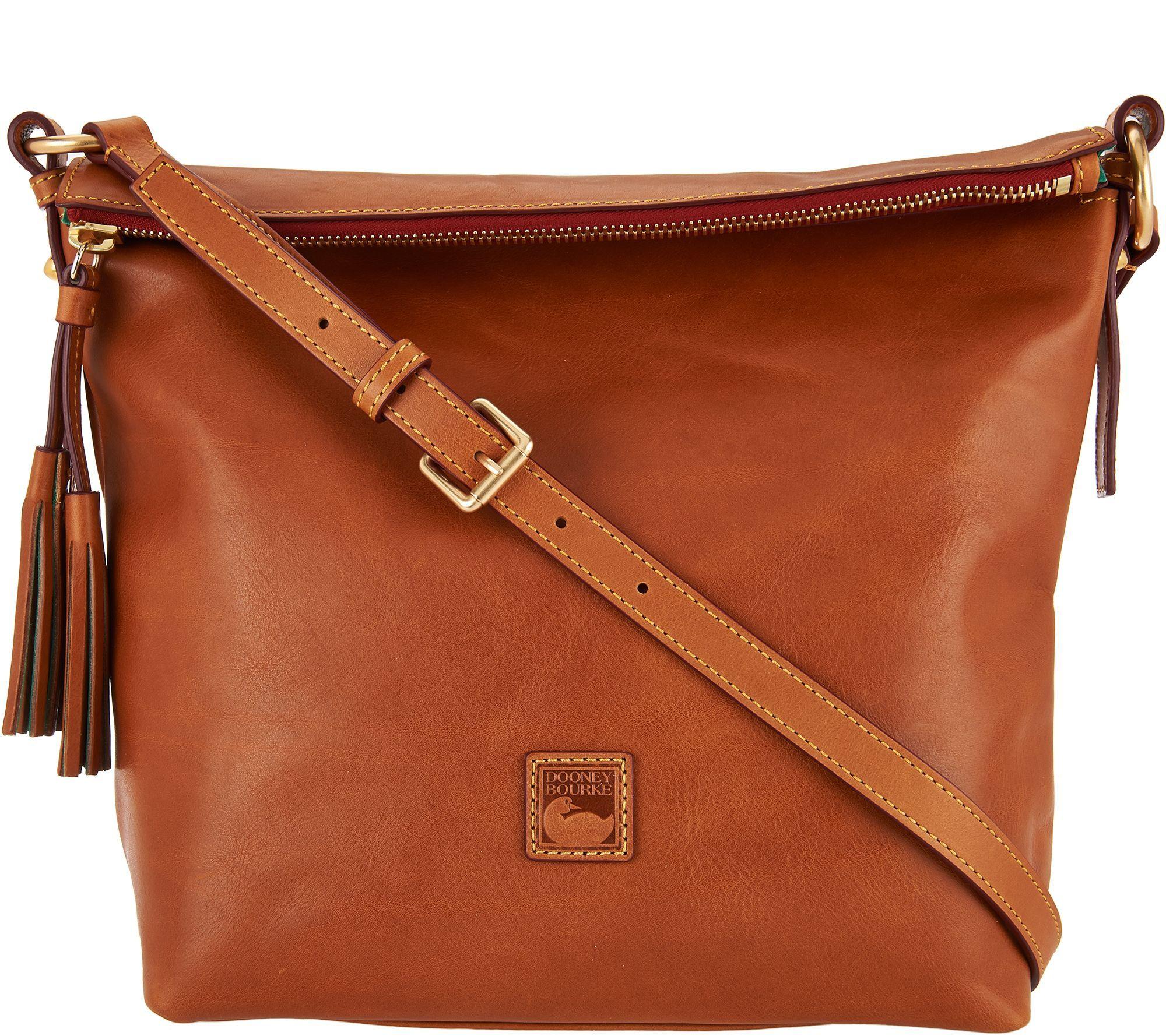 Dooney Bourke Florentine Leather Dixon Crossbody