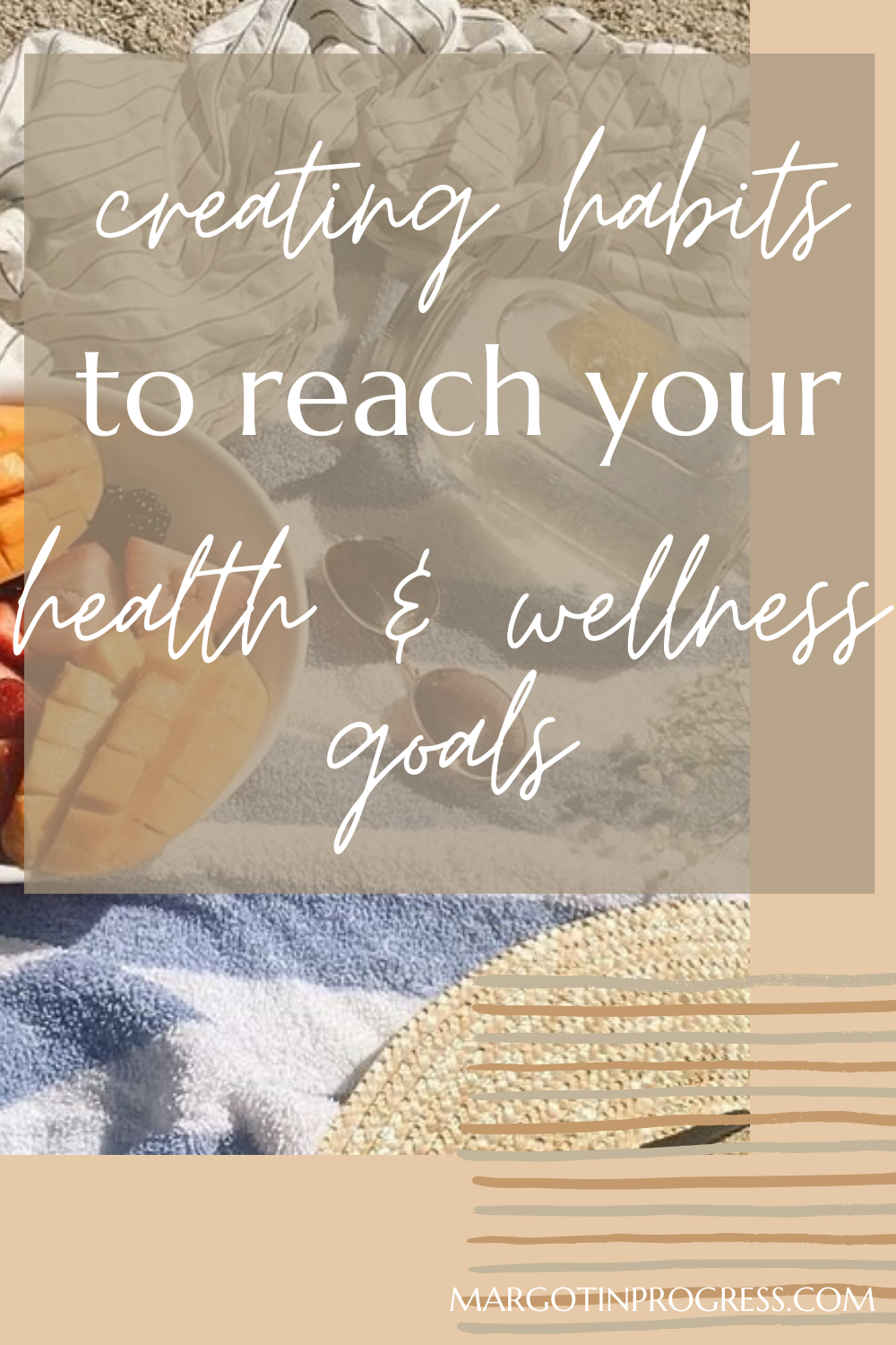 Create Better Habits To Reach Your Health And Wellness Goals Wellness Goals Health And Wellness Wellness