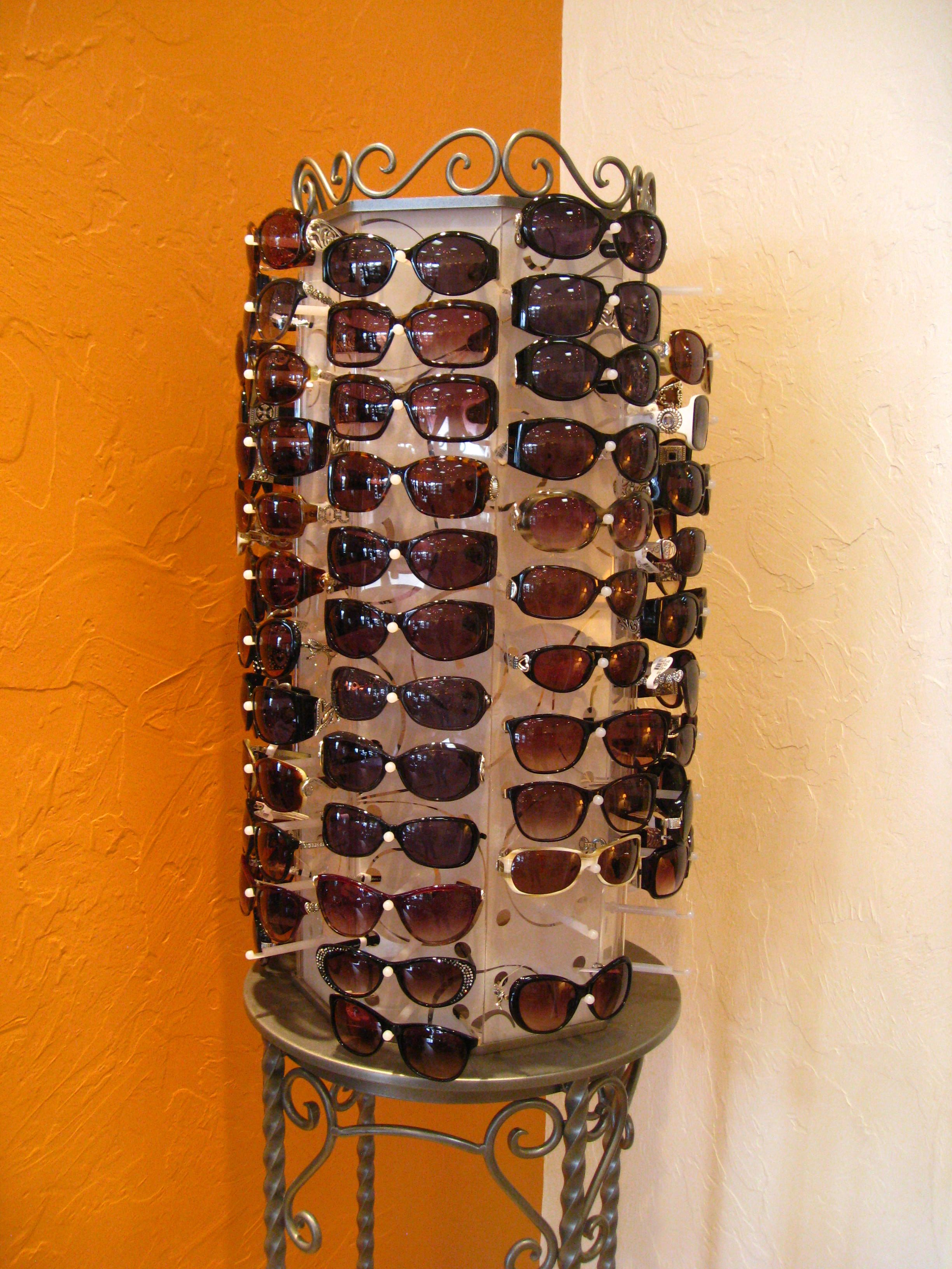 Lots and lots of Brighton sunglasses!