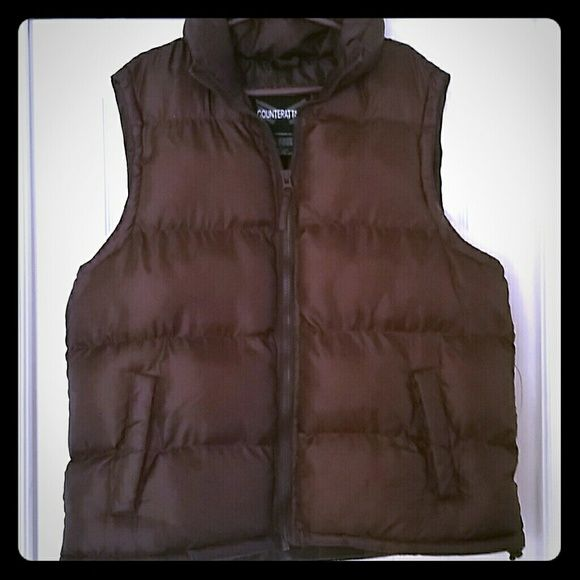 vest great for winter so comfy! never worn in perfect condition possibly trade Other