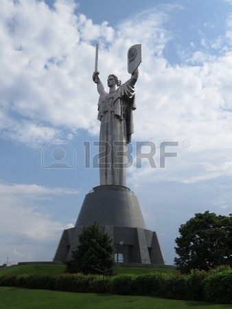 Patrie Monument A Kiev Dans La Memoire De La Seconde Guerre Mondiale Guerre Mondiale Guerre Monument