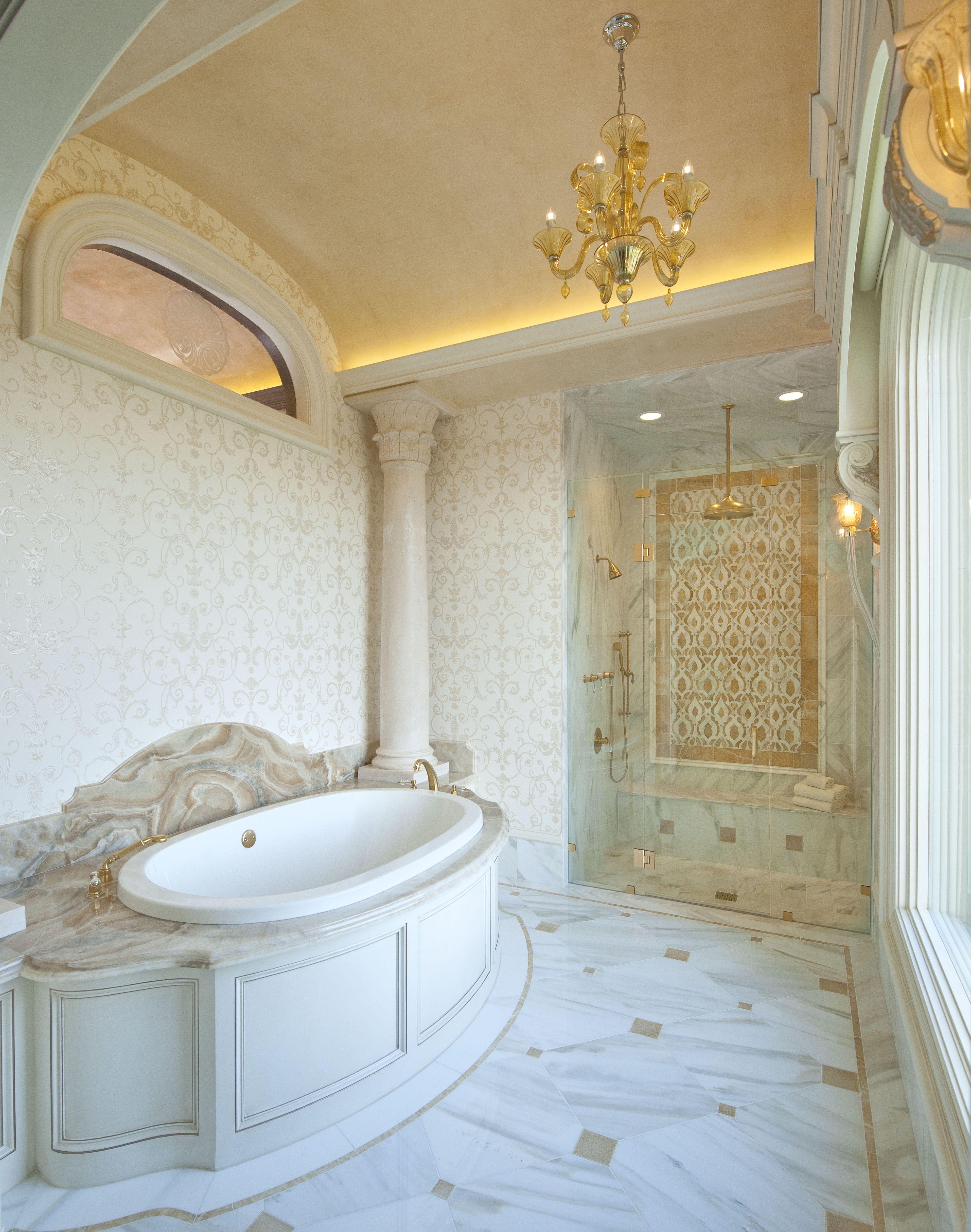 Elegantes badezimmerdesign  retro stil badezimmer design ideen  badezimmer  pinterest
