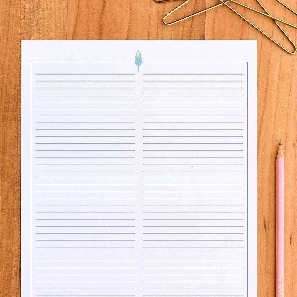 Free 2 Column Notes Printable
