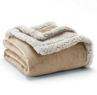 Kohls Throw Blankets Adorable Sherpa Throw Blanket Kohls Custom Fleece Blankets