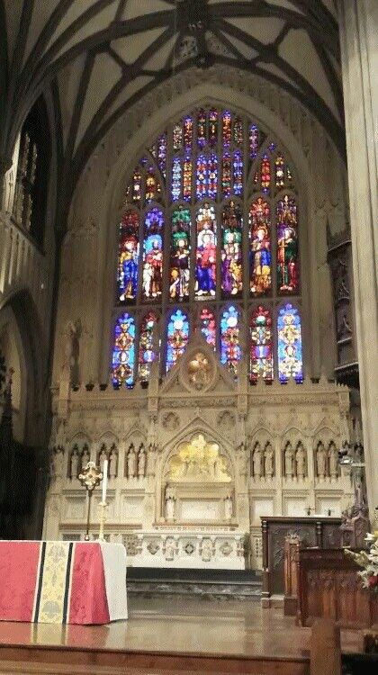 Hermosos vitrales en Iglesia en New York.♥