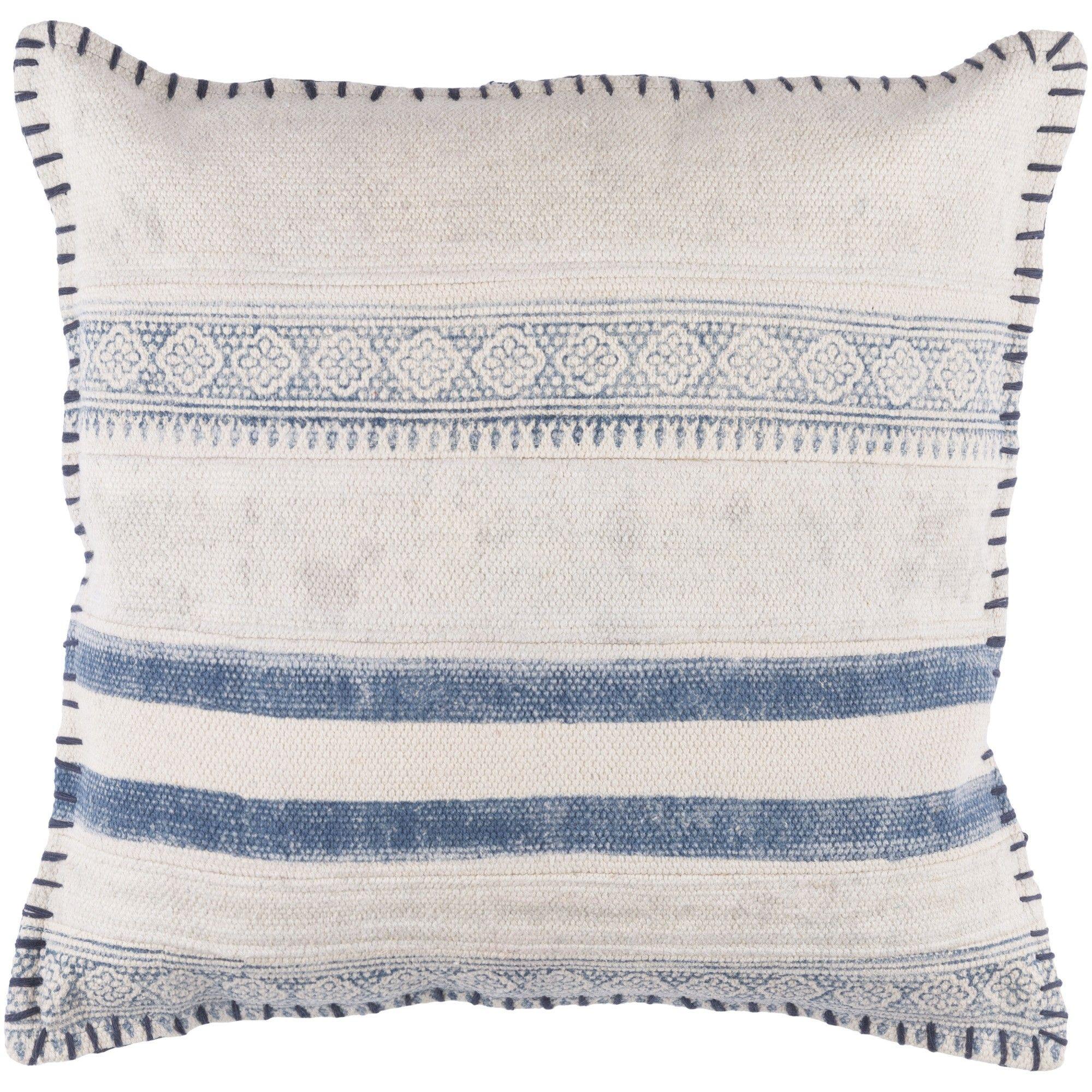Lulu Amp Georgia Radde Pillow Denim Cabin Living Bed Pillows Throw Pillows