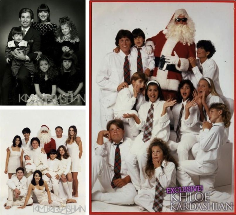 See All The Best Kardashian Family Christmas Cards | Celebrity News ...