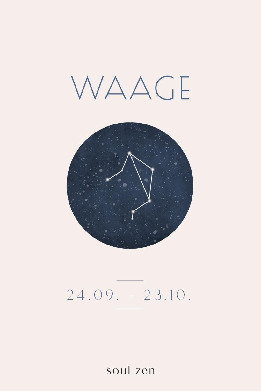 Sternzeichen waage ab wann