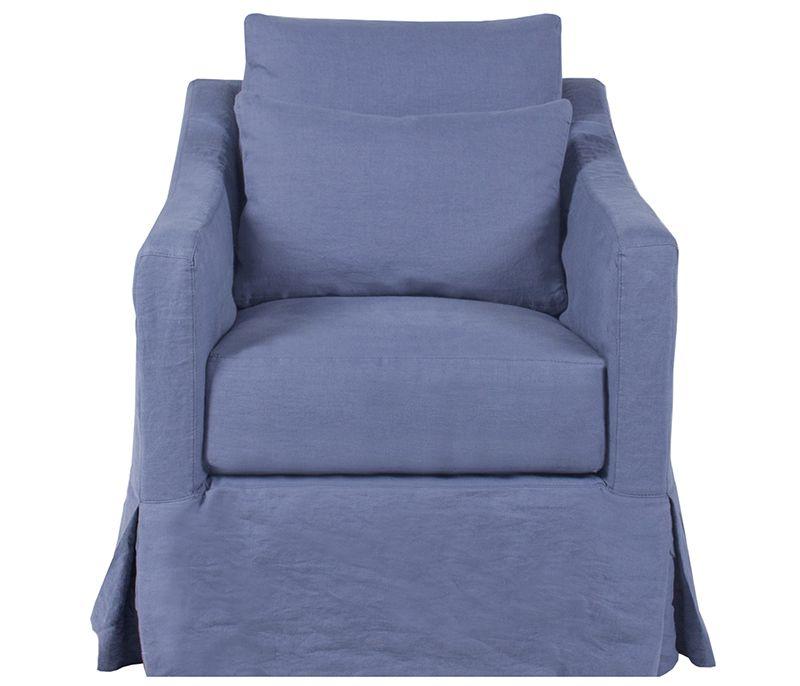 Wondrous Boston Interiors Costello Slipcovered Swivel Chair In Machost Co Dining Chair Design Ideas Machostcouk