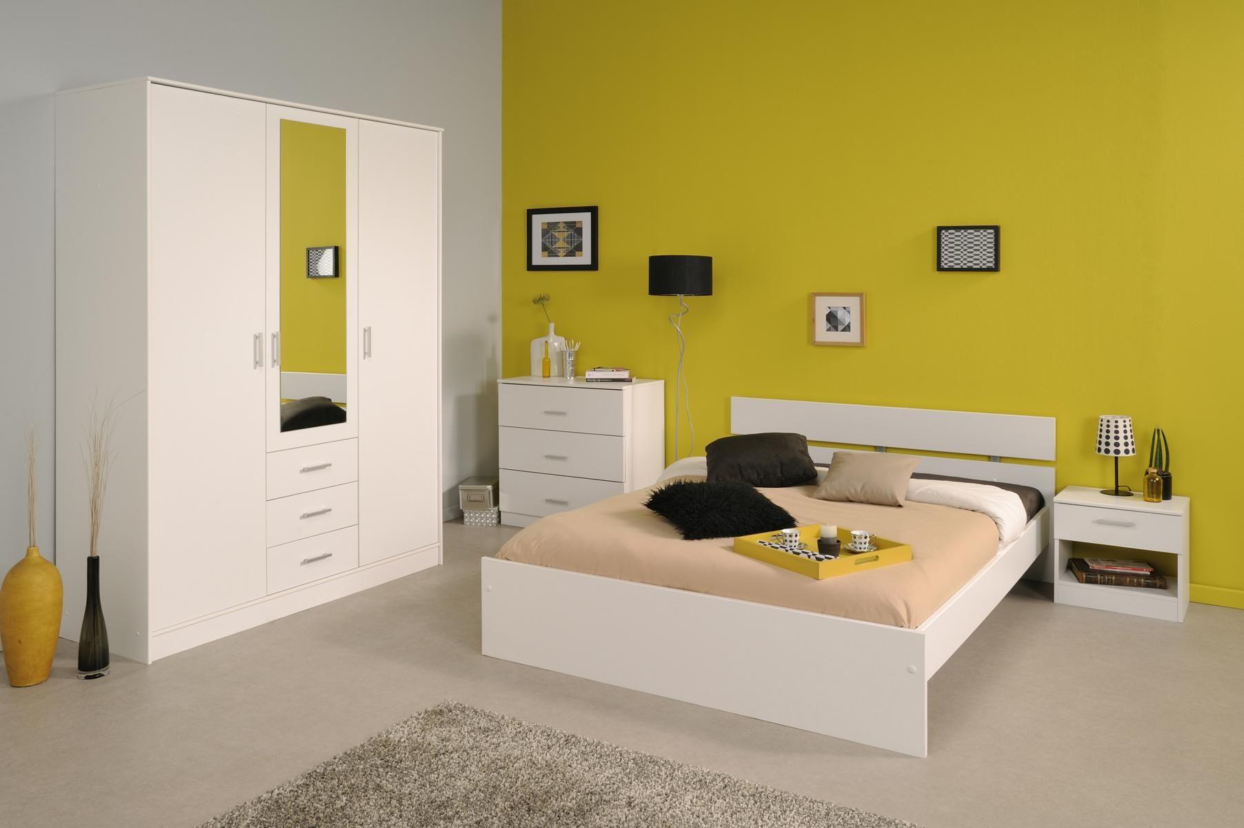 Schlafzimmer Linus V mit 140er Bett Die Auswahl der Farbe ist bei diesem Schlafzimmer - Programm reine Geschmackssache. Beide Farben, Kaffee oder Weiß, können sich problemlos jeder kreativen...