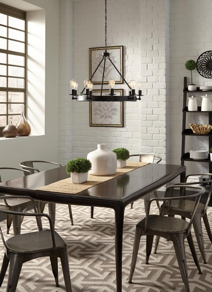 The Ravenwood Manor 9 Light Chandelier By Seagull Lighting Can Bring A Stylish Finish To Your