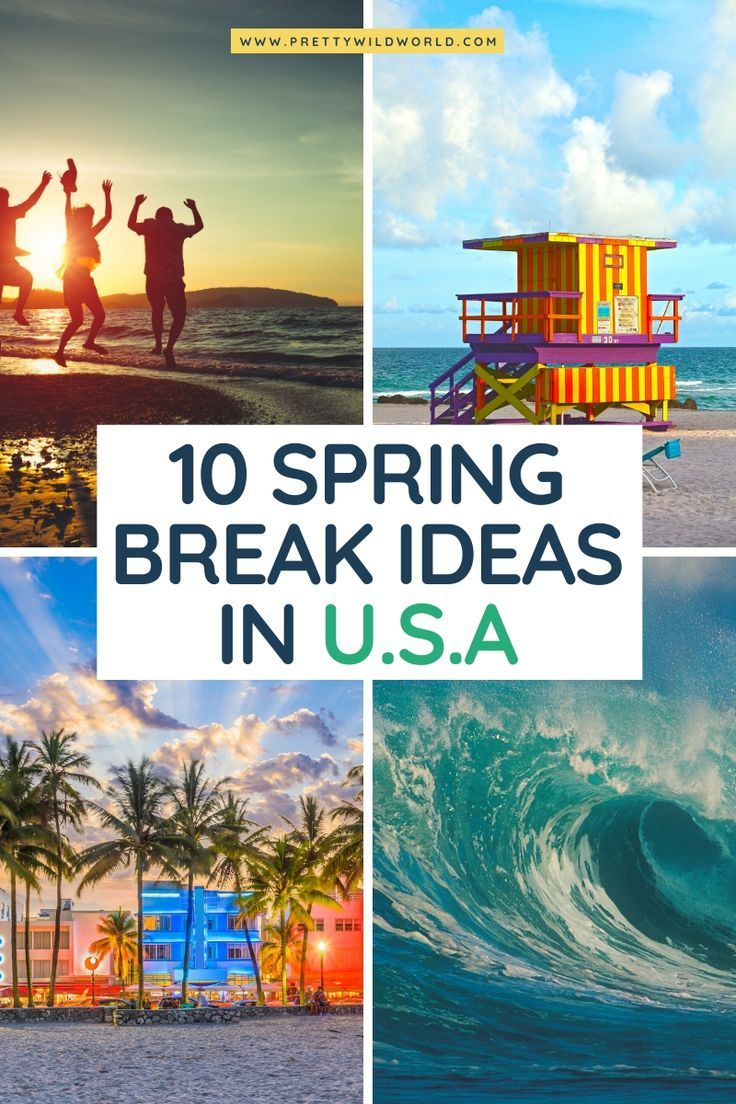 Best Spring Break Destinations for College Students on a