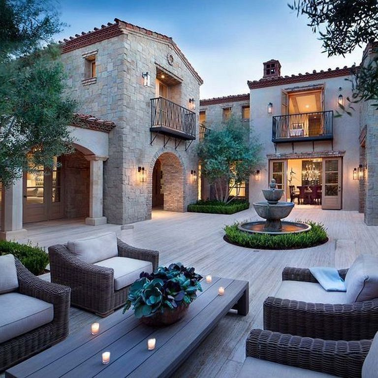 25 Cool Stylish House Design Ideas The Rise Up Leaves In Italian Homedecorideas Homedecoracce Dream House Exterior Italian Style Home House Designs Exterior