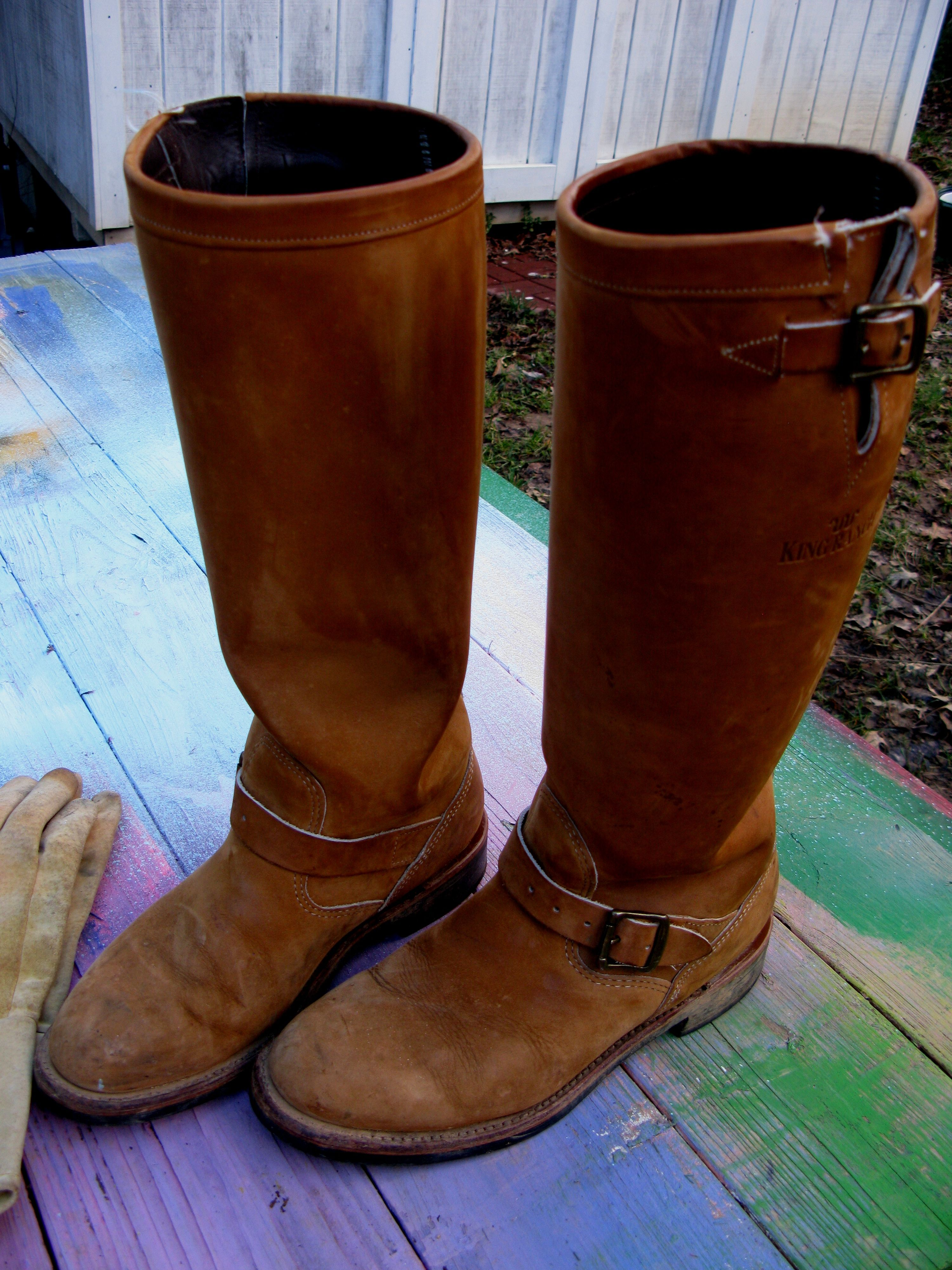 8679d0e9566 Men's Boots - My King Ranch boots. These are serious boots ...