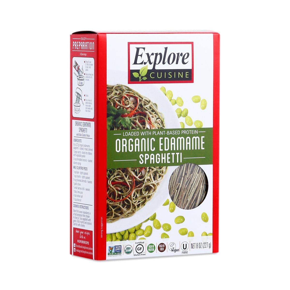 Explore Cuisine Organic Edamame Spaghetti Edamame Spaghetti Organic Pasta Edamame