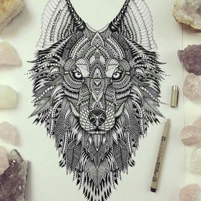 vorlage ink pinterest tattoo wolf and wolf tattoos. Black Bedroom Furniture Sets. Home Design Ideas