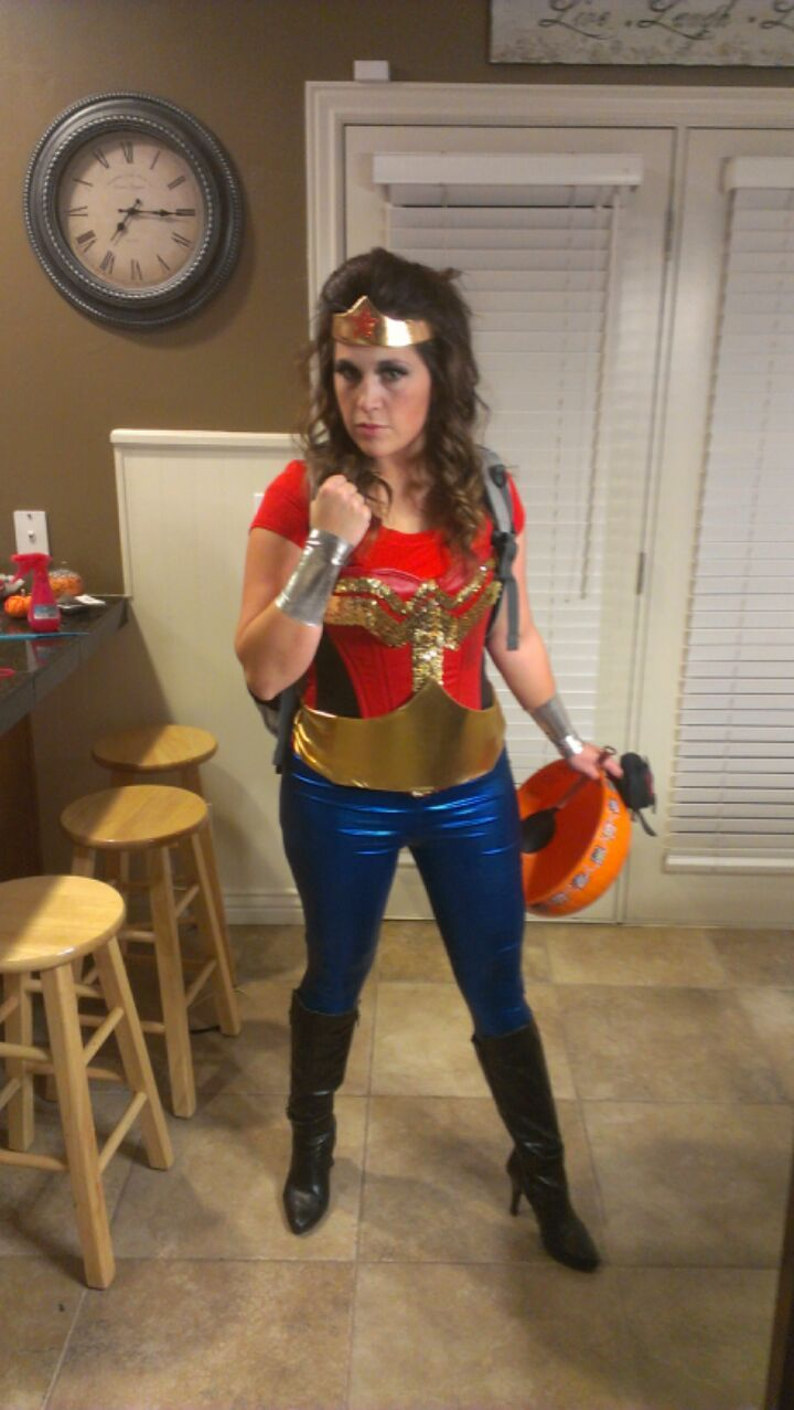 School Teacher, Cool Teacher, Wonder Woman Costume Dont Mind That I -5060