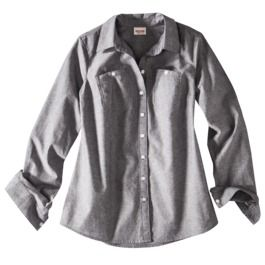 Mossimo Supply Co. Juniors Long Sleeve Chambray Shirt - Assorted Colors size Small $10