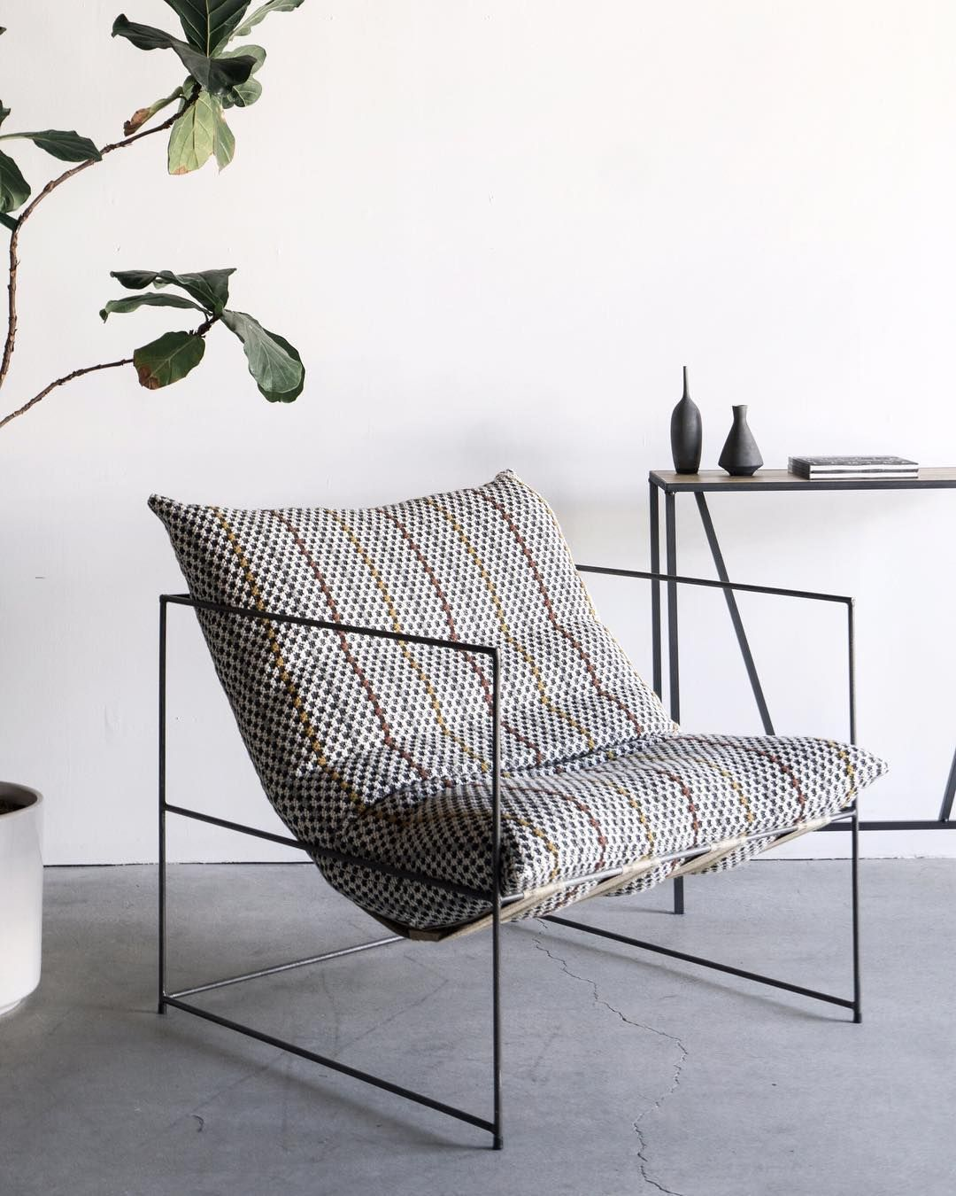 Croft House Onyx Sierra Chair, Los Angeles