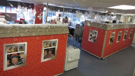 North Pole With Images Holiday Office Decor
