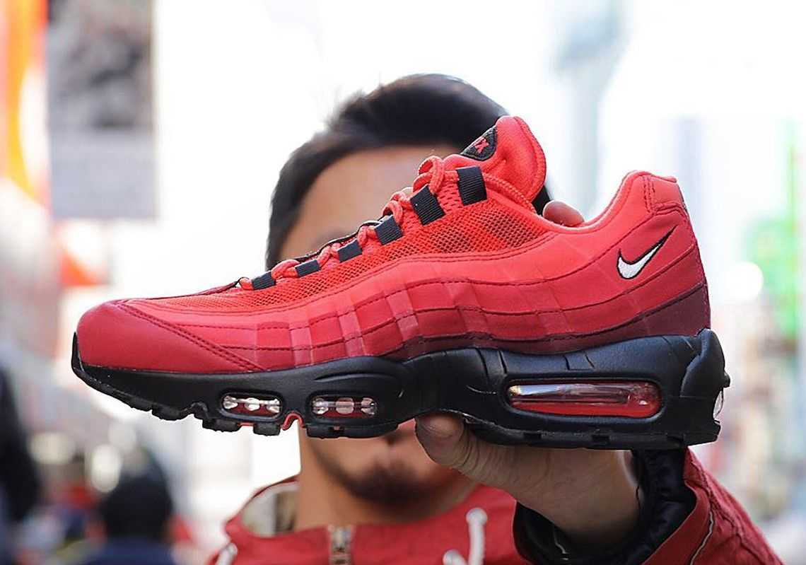 new style d7723 9b52d Nike Air Max 95 OG Habanero Red AT2865-600  thatdope  sneakers  luxury   dope  fashion  trending