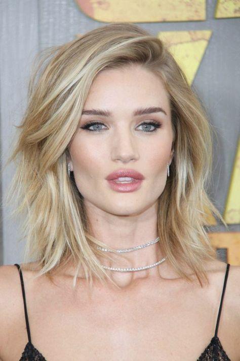 peinados para pelo corto mujer con ojos azules pelo rubio suelto
