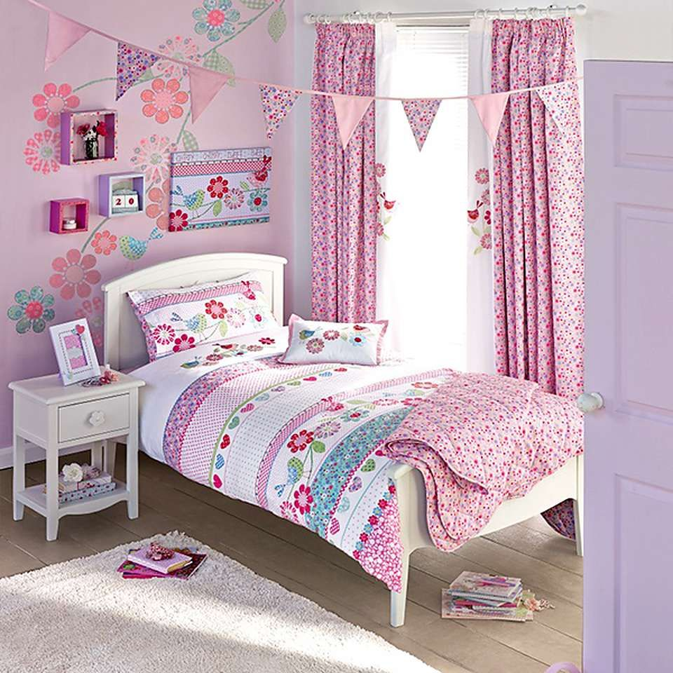 Kids Songbird Bed Linen Collection  Guest room bed, Childrens