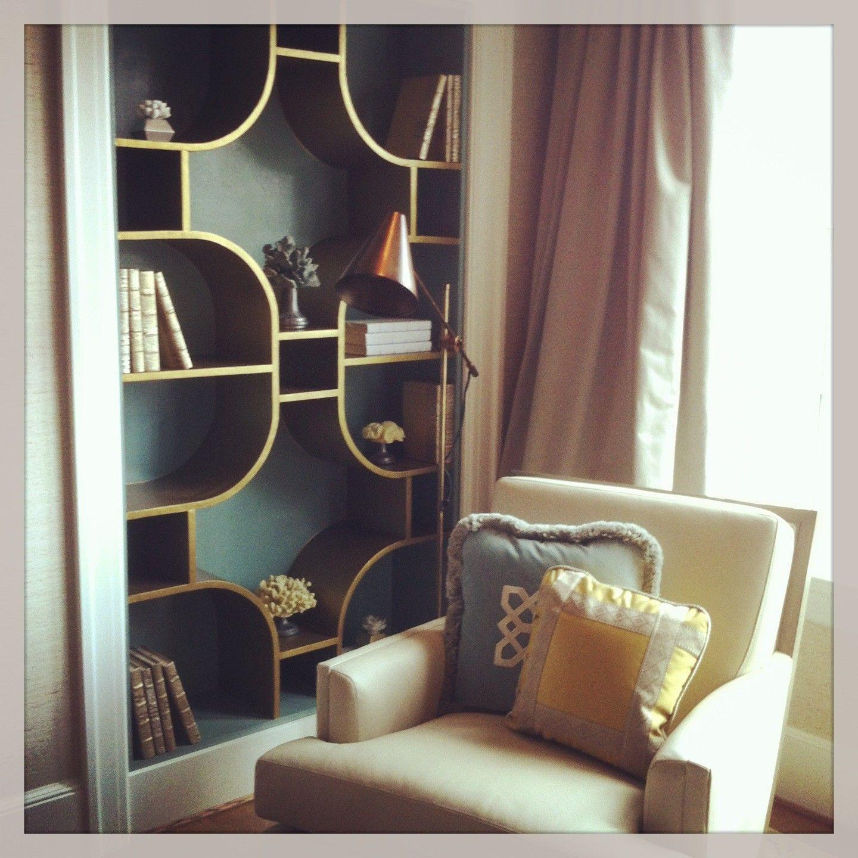 Bridget Beari Metallics  - Bridget Beari Designs-unique-shelf-design