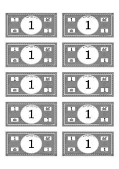 Adorable image throughout printable monoply money