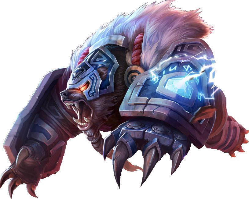 Rune Guar Volibear Skin PNG Image League of legends
