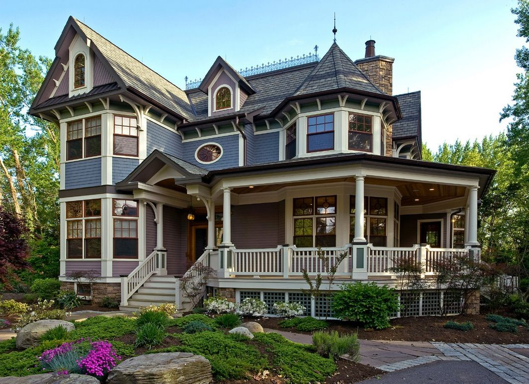 The Most Popular Iconic American Home Design Styles Victorian