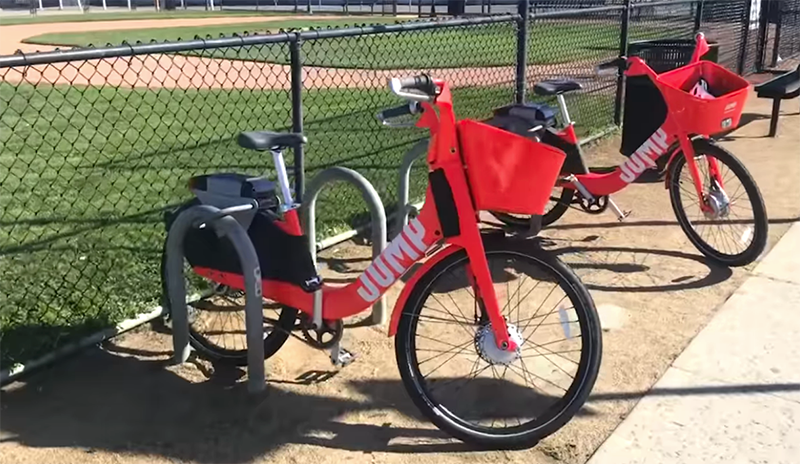 Uber S Jump E Bikes Debut In Seattle Local Records Office With