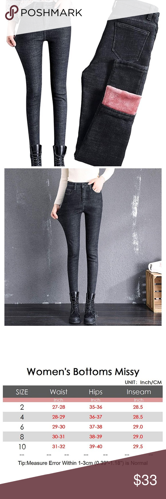 Warm Lined Jeans In 2020 Lined Jeans Jeans Clothes Design