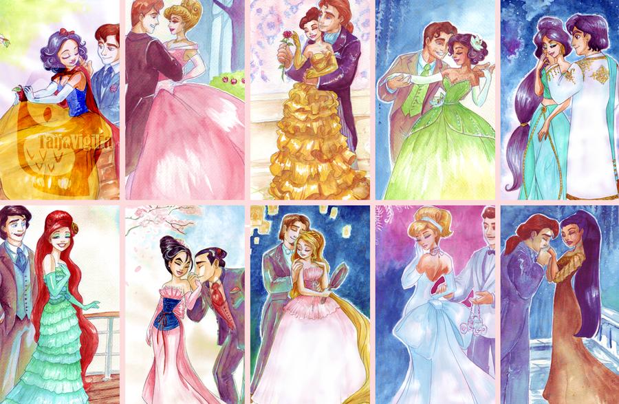 Coppie Disney