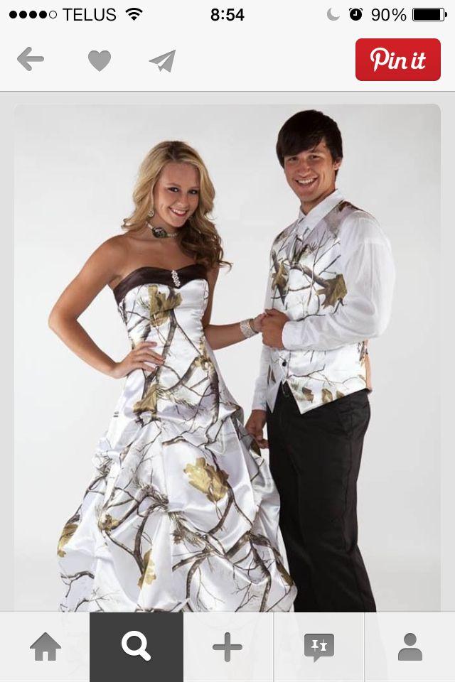 Camo Wedding Idea The Dress Wedding Pinterest Camo Wedding