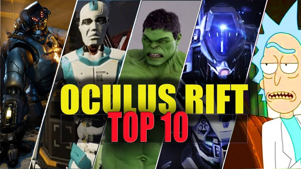 OCULUS RIFT TOP 10 BEST VR GAMES【Portal Virtual Reality