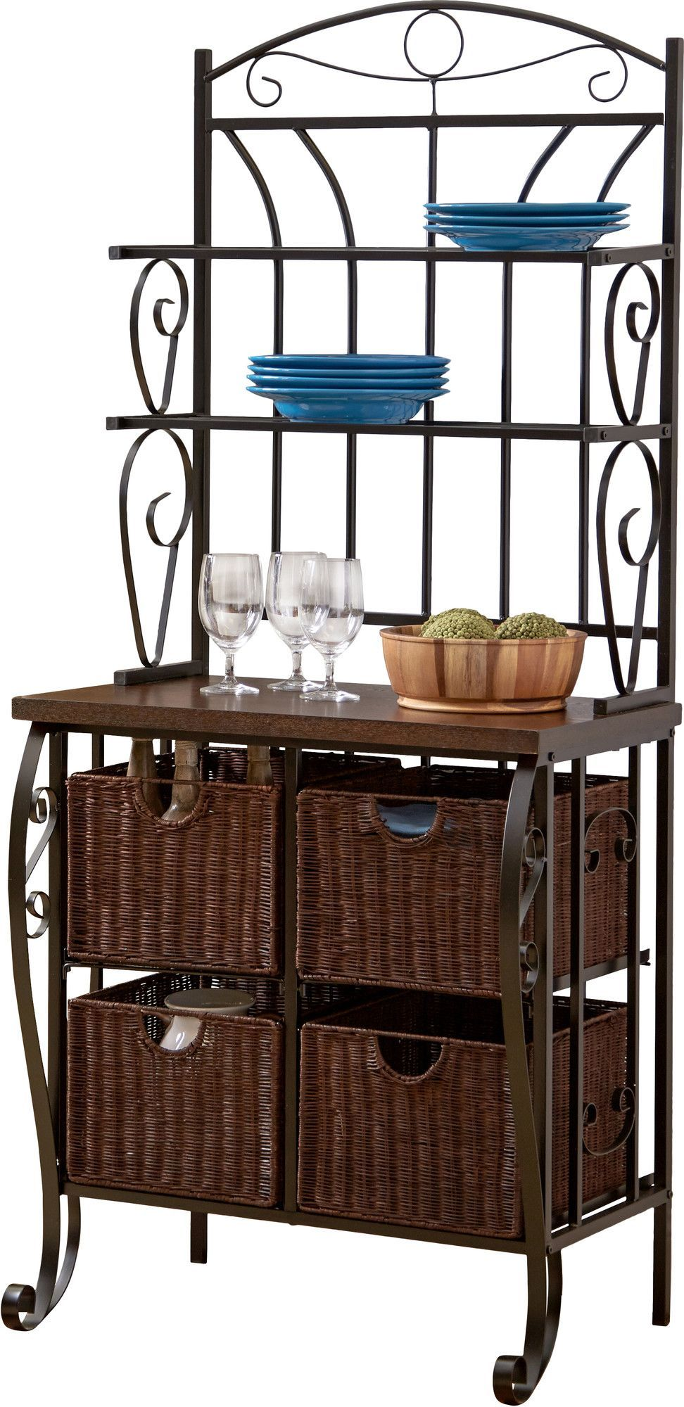 Features Used In Kitchen Storage Basket Included Counter