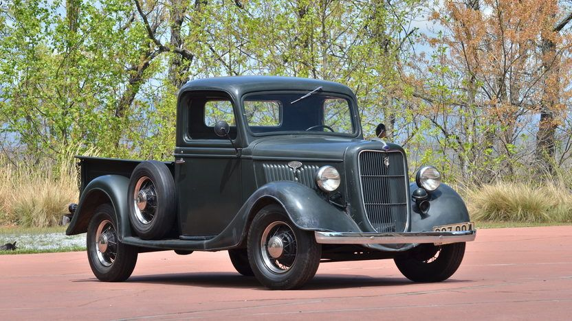 1935 Ford Pickup G217 Indy 2012 In 2020 Ford Trucks Classic Cars Trucks Ford Pickup